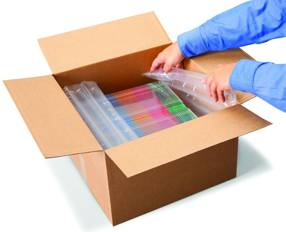 Block and brace protective packaging