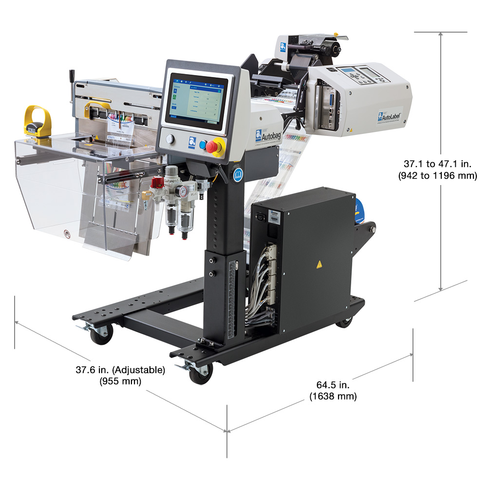 AutoLabel 500 high resolution inline printer dimensions