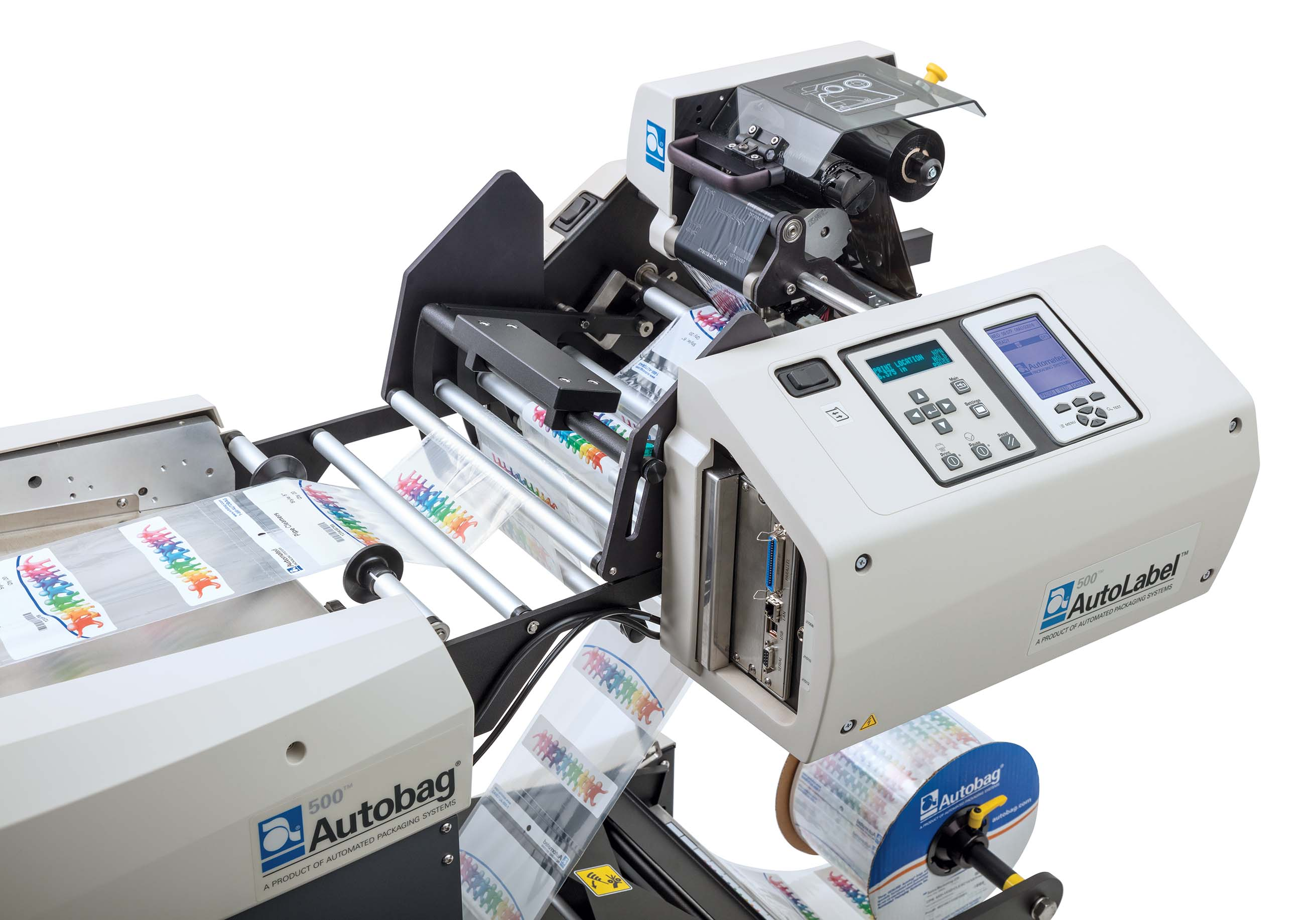AutoLabel 500 high resolution inline printer close up