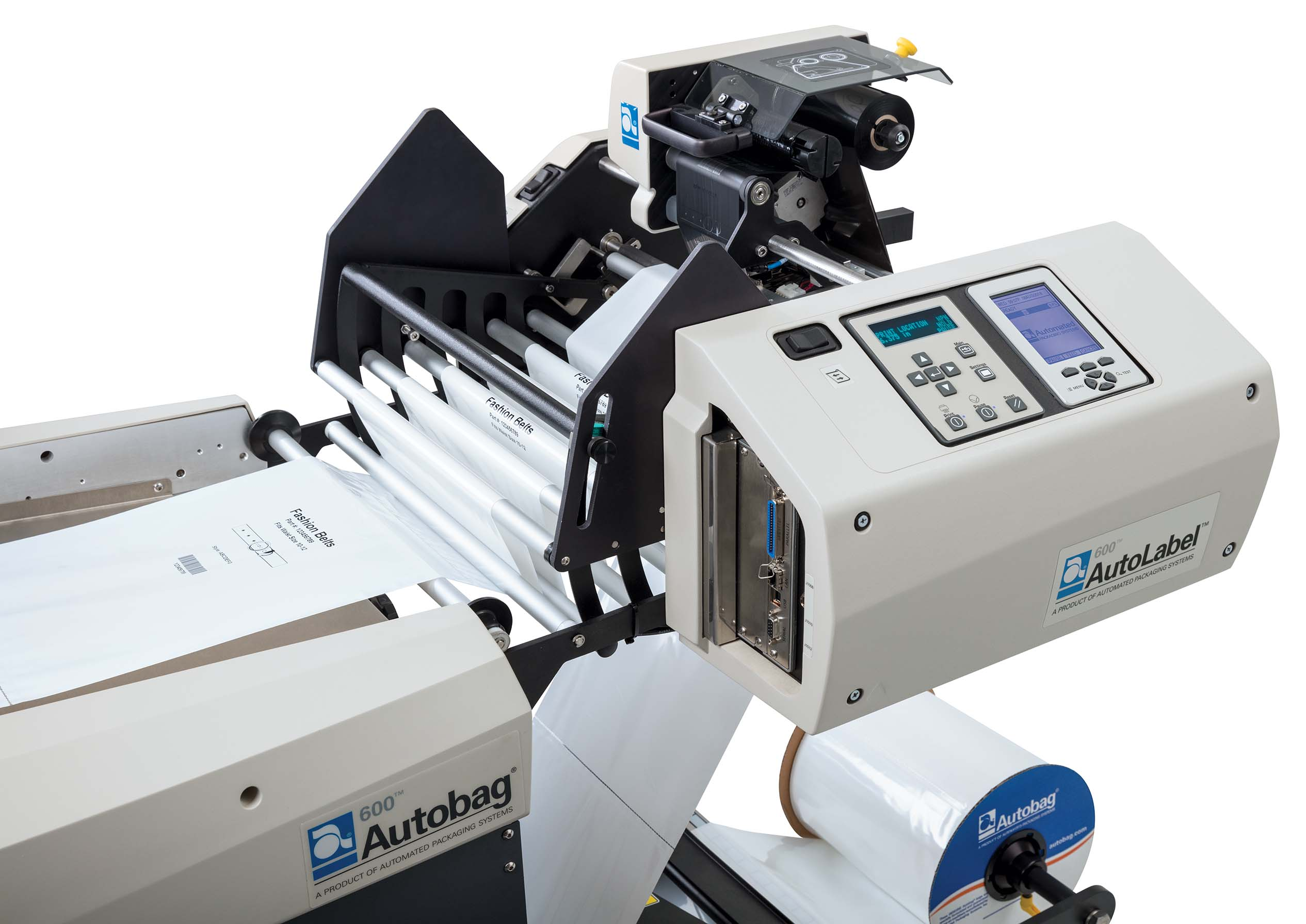 AutoLabel 600 high resolution inline printer close up