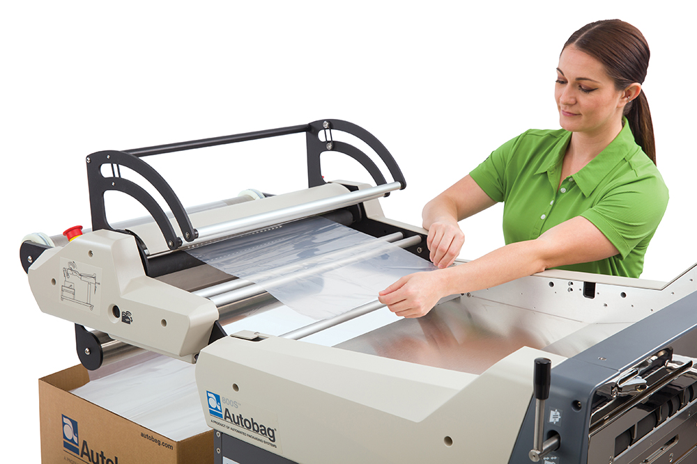 Autobag 800S automatic bag sealer threading