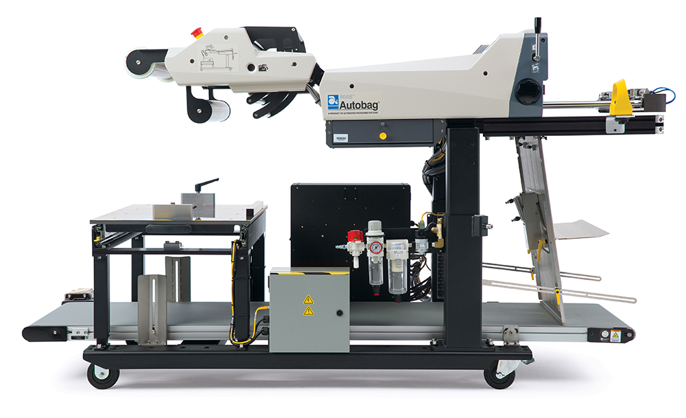 Autobag 800S automatic bag sealer side view left