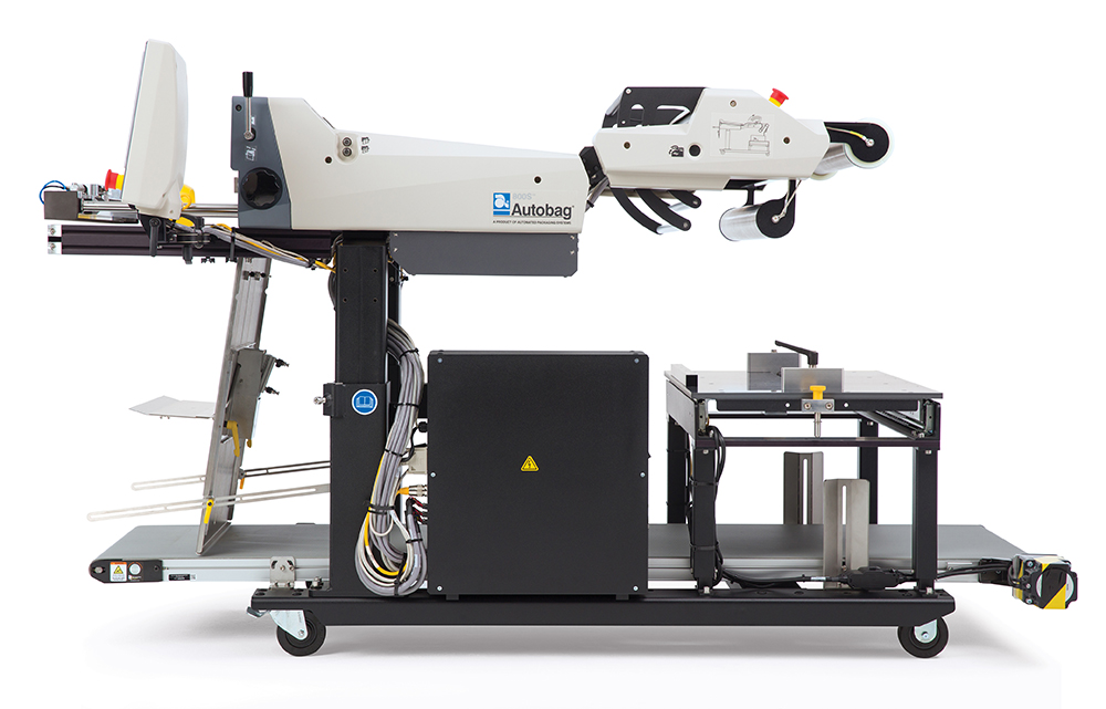 Autobag 800S automatic bag sealer side view right