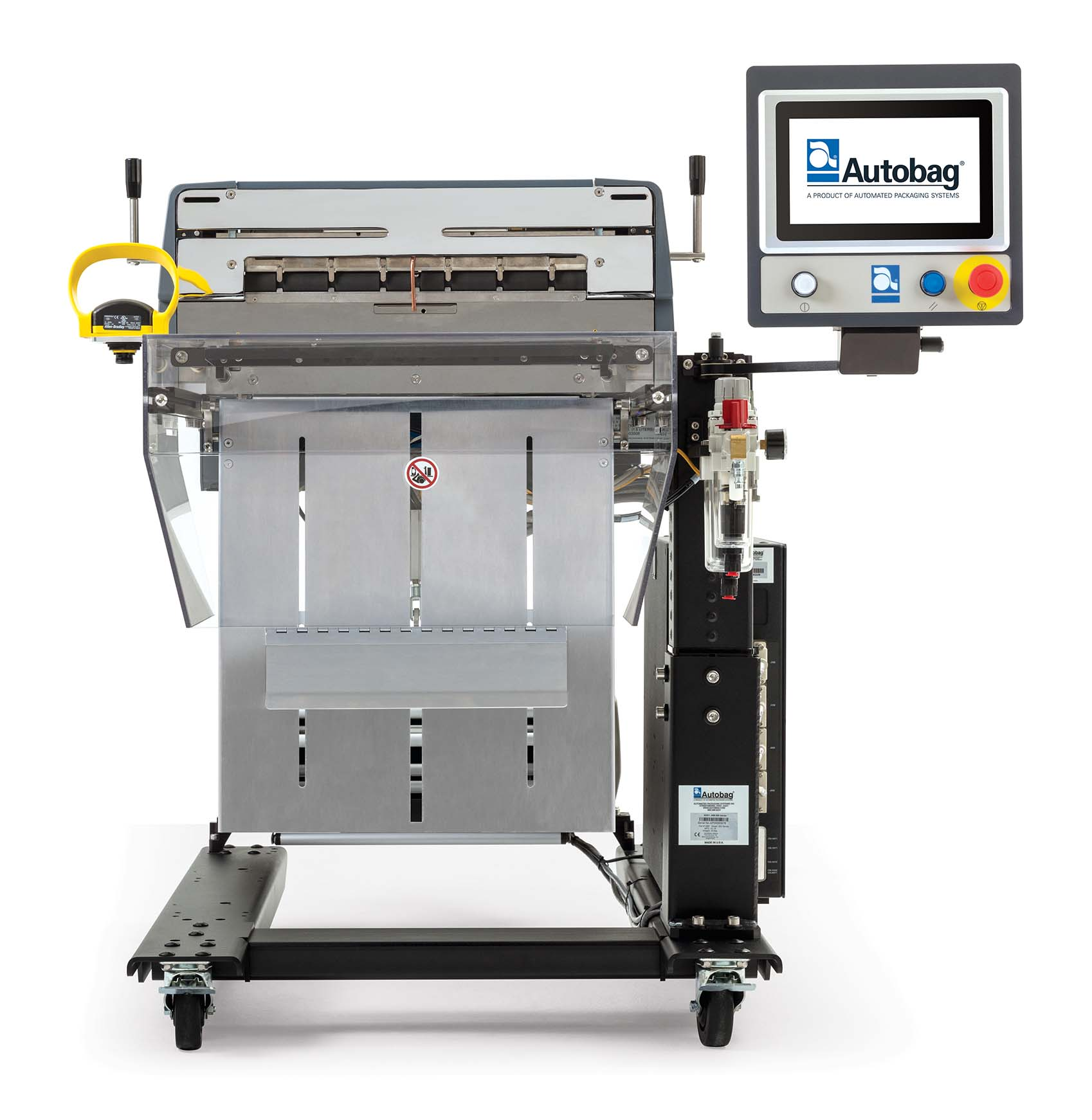 Autobag 600 packaging machine for large bags front view