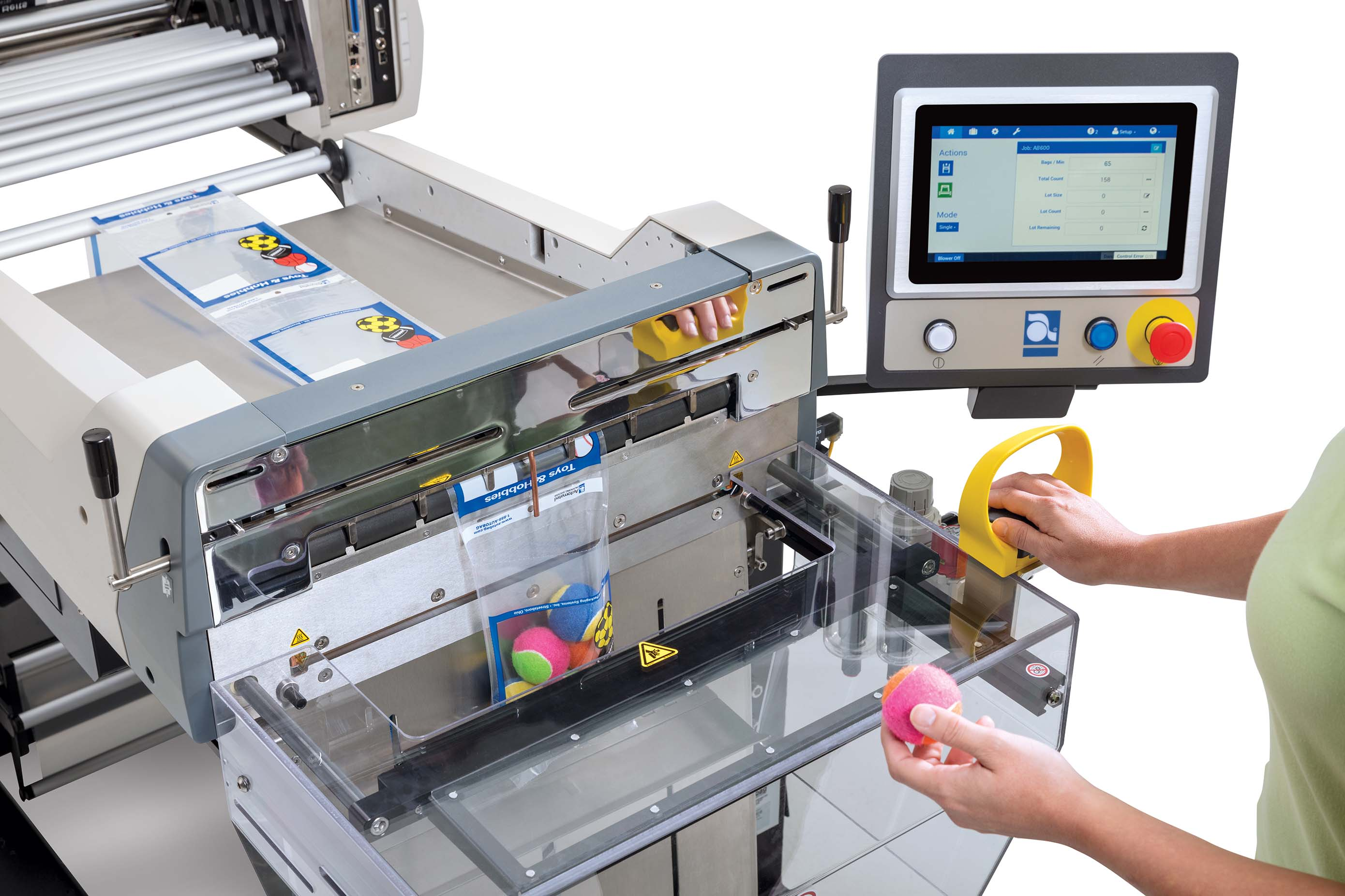 Autobag 600 packaging machine safety feature