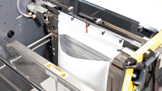 View of our Autobag AB 180 opening a mail bag