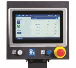 Touch control screen of the Autobag 850S Bagging Systems