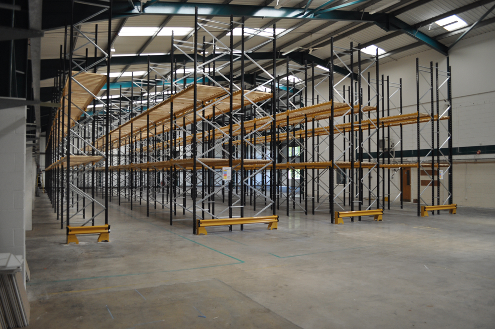 Automated Packaging Systems new storage warehouse