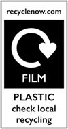 Label for Film Plastic recycling